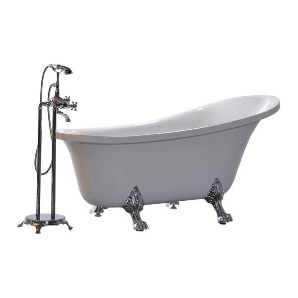 King 69 x 30 Soaking Bathtub by Legion Furniture