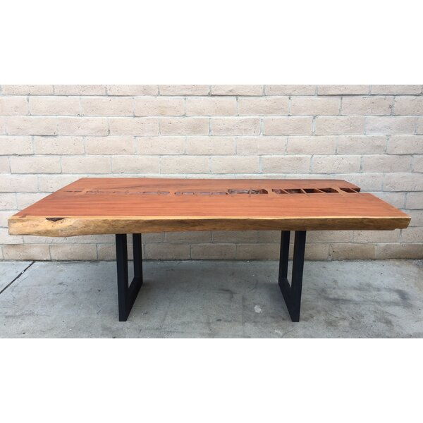 Branscum Solid Wood Dining Table by Foundry Select