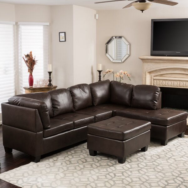 Hardin Sectional with Ottoman by Red Barrel Studio