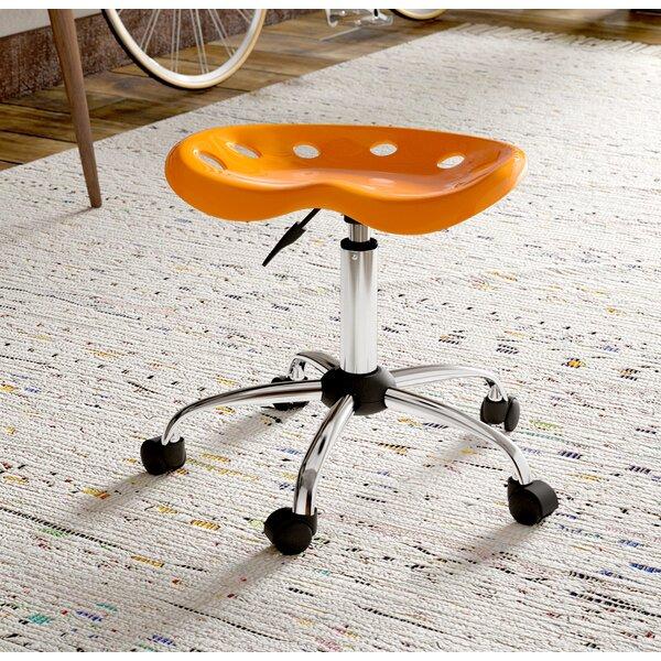 Wilkinson Height Adjustable Lab Stool by Ebern Designs