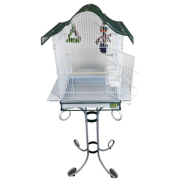 Pitch Roof Cage with Stand by A&E Cage Co.