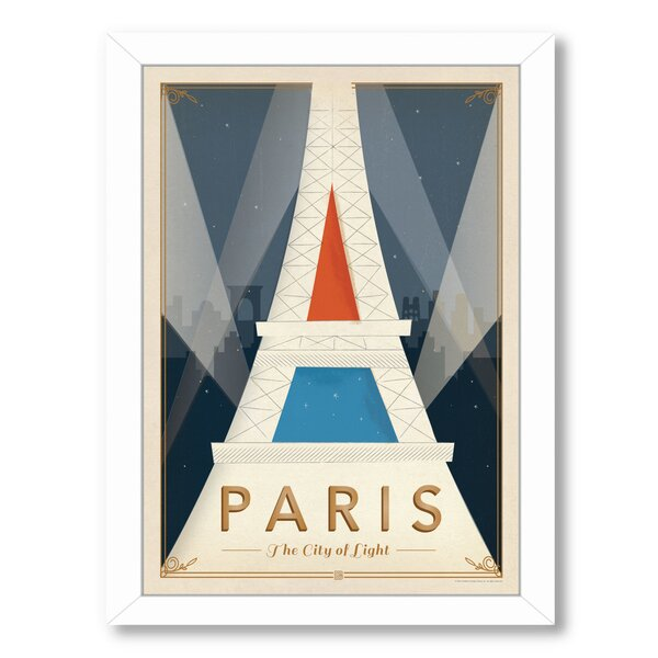 Paris Mod Framed Vintage Advertisement by East Urban Home