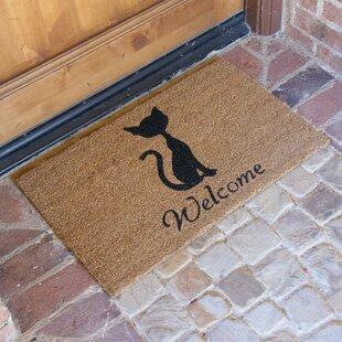 Jefferson Street Meow Cat Welcome Doormat