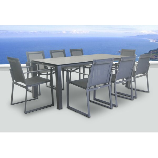 Farquhar 9 Piece Dining Set by Orren Ellis