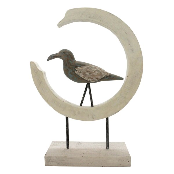 Uribe Mango Wood Bird by Highland Dunes