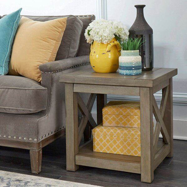 Darin End Table By Gracie Oaks