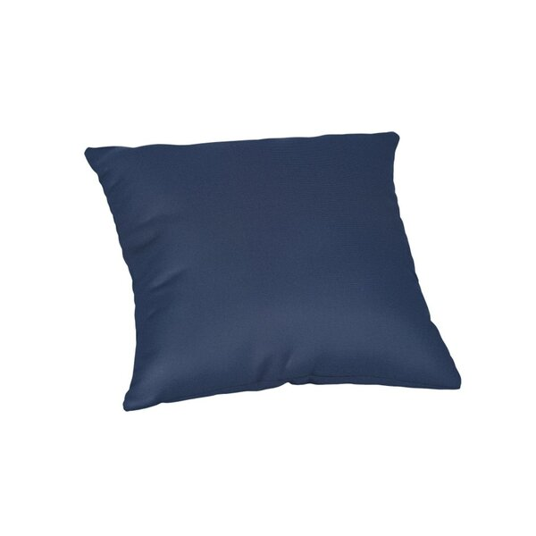 Feagin Sunbrella Solid Outdoor Throw Pillow by Wrought Studio