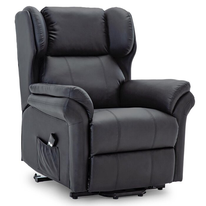 Excellent Shropshire Leather Electric Rise Recliner Chair Onthecornerstone Fun Painted Chair Ideas Images Onthecornerstoneorg