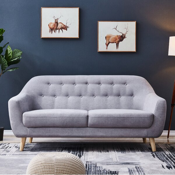 Fine Quality Lipe Accent Loveseat by Ivy Bronx by Ivy Bronx