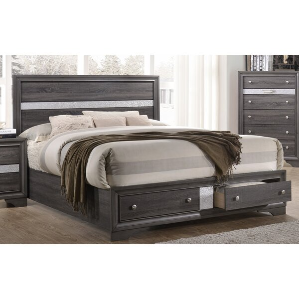Damarcus King Storage Standard Bed by Darby Home Co