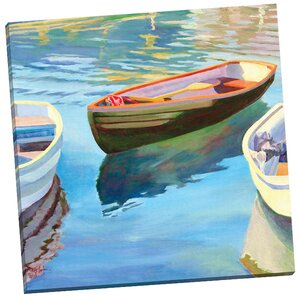 Adrift I by Kay Carlson Painting Print on Wrapped Canvas by Portfolio Canvas Decor
