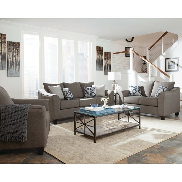 Hegarty 3 Piece Living Room Set by Alcott Hill