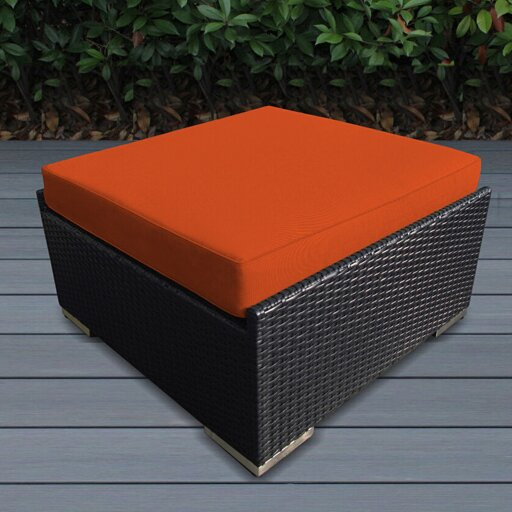 Baril Large Ottoman with Cushion by Wade Logan