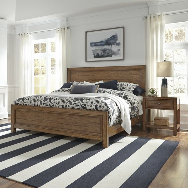 Milford King Standard 2 Piece Bedroom Set by Canora Grey