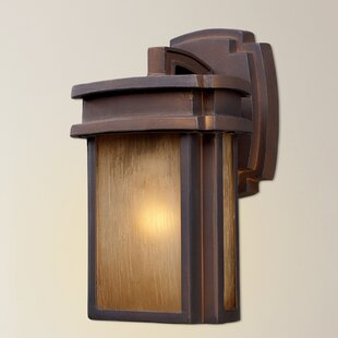 Deals Carriage Club 1-Light Outdoor Wall Lantern By Loon Peak