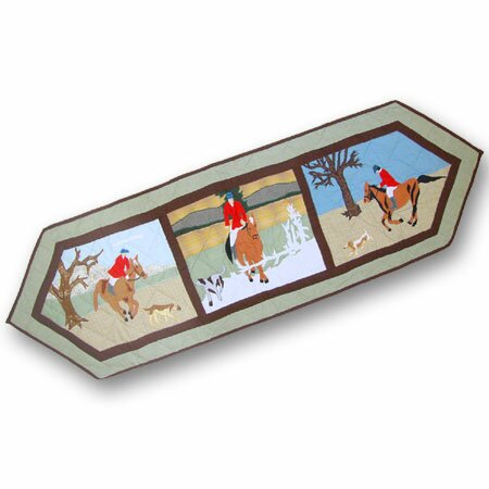 Fox Hunt Table Runner by Patch Magic