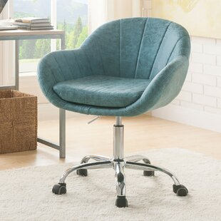 Hurst Tufted Swivel Task Chair by 17 Stories Savings
