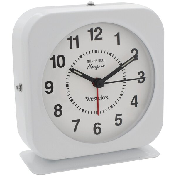 Bell Alarm Tabletop Clock by Westclox Clocks