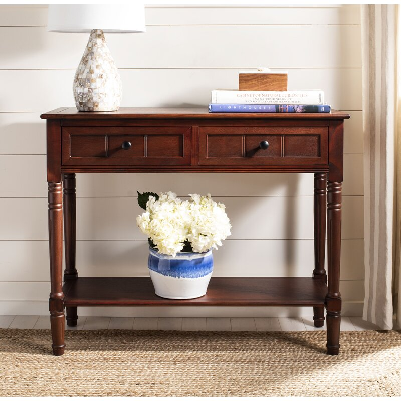 Beachcrest HomeManning 2 Drawer Console Table