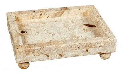 Square Soapstone Tray by Dekorasyon Gifts & Decor