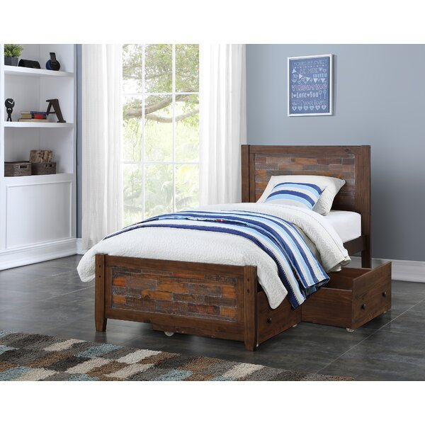 Featherston Platform Bed with Drawers by Harriet Bee