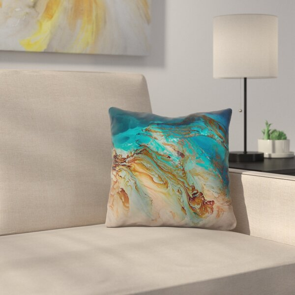 Serenity Throw Pillow by East Urban Home
