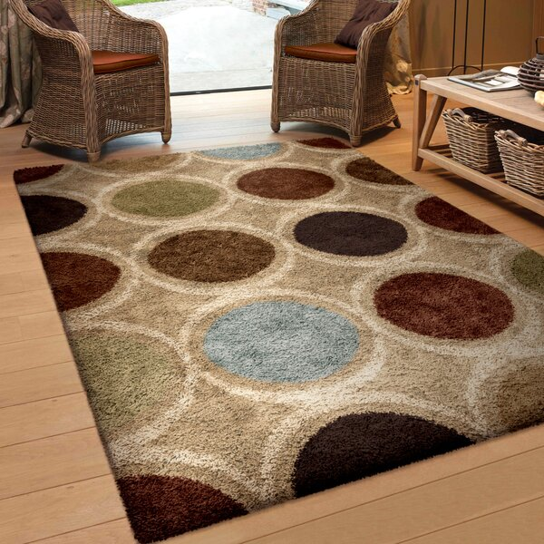 Catalina Brown Area Rug by Threadbind
