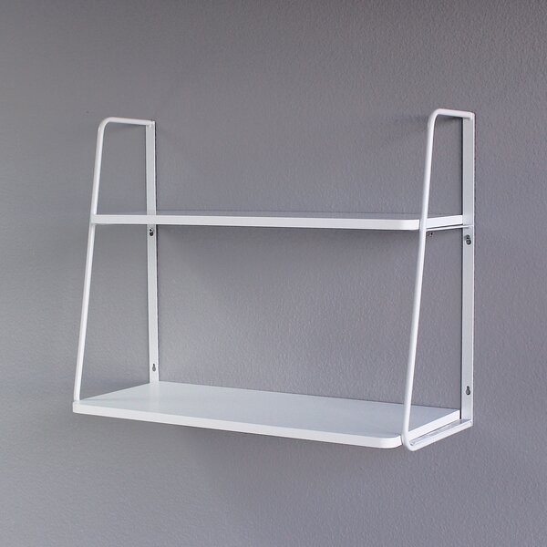 Ja 2-Tier Display Wall Shelf by Williston Forge