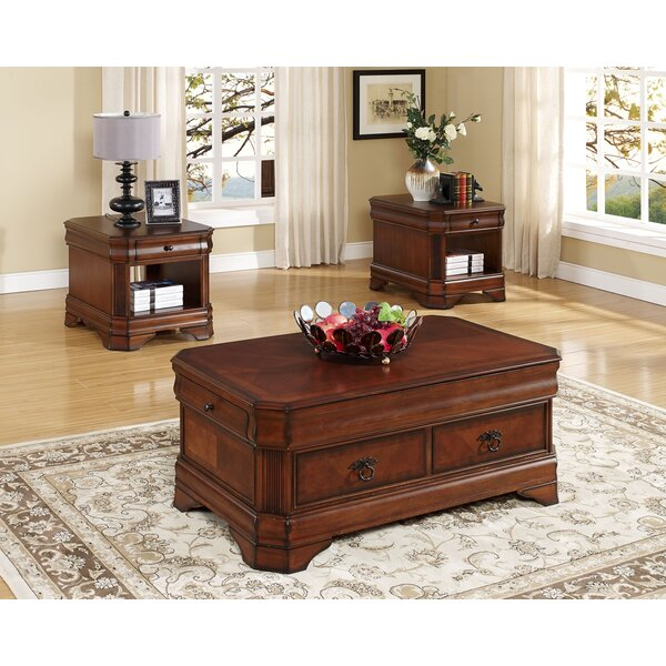 Brinkerhoff 3 Piece Coffee Table Set By Charlton Home