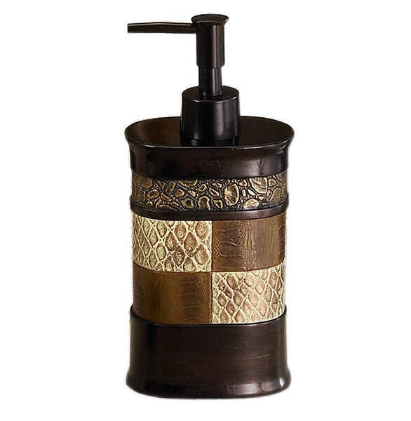 Zambia Bath Lotion Dispenser by Sweet Home Collection