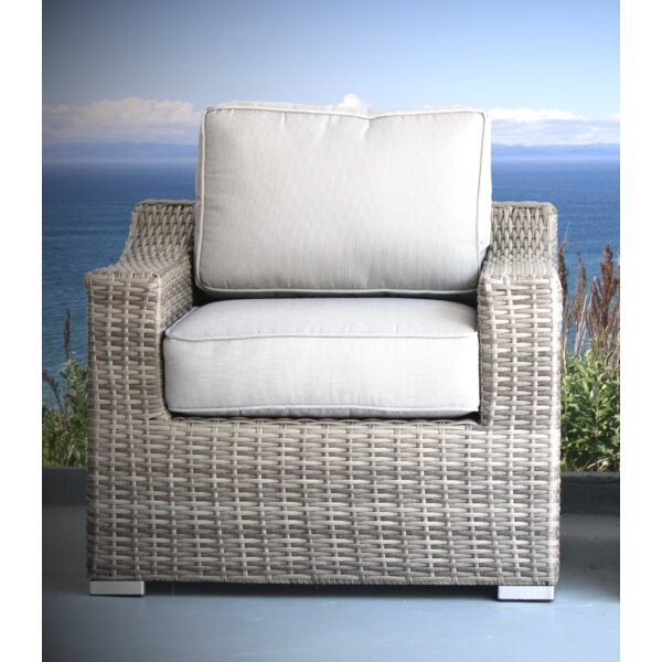 Laurene Club Patio Chair with Cushions by Ivy Bronx