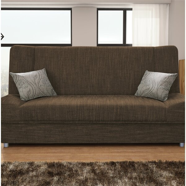 Latest Trends Vivanco Sofa Bed by Latitude Run by Latitude Run