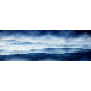 'Blue Mountains' by Parvez Taj Painting Print on Wrapped Canvas by Parvez Taj