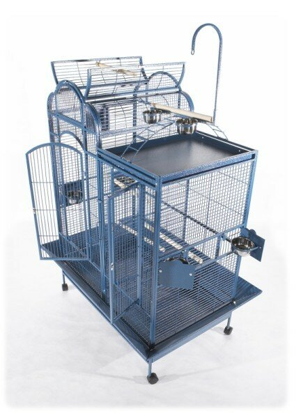 Split Level House Bird Cage by A&E Cage Co.