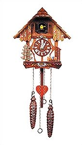 Two Story Chalet Cuckoo Clock by Black Forest