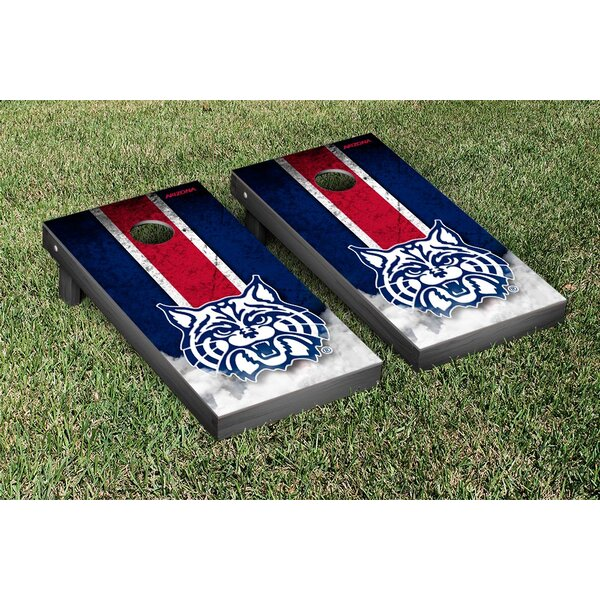NCAA Grunge Version 2 Cornhole Game Set by Victory Tailgate