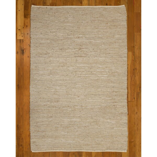 Hand-Loomed Beige Area Rug by Natural Area Rugs