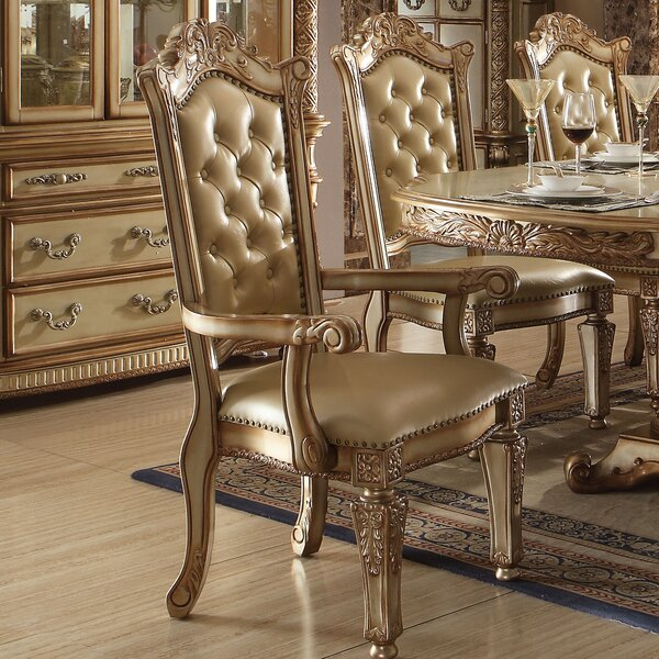 Welles Upholstered Dining Chair (Set Of 2) By Astoria Grand