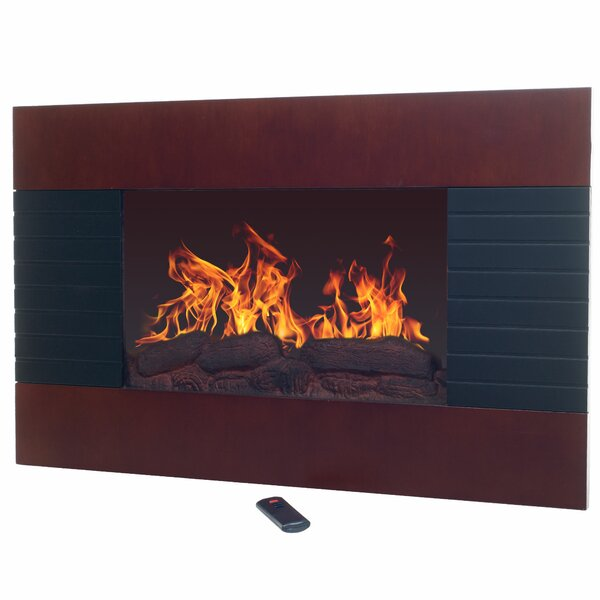 Pulaski Wall Mounted Electric Fireplace by Union Rustic Union Rustic