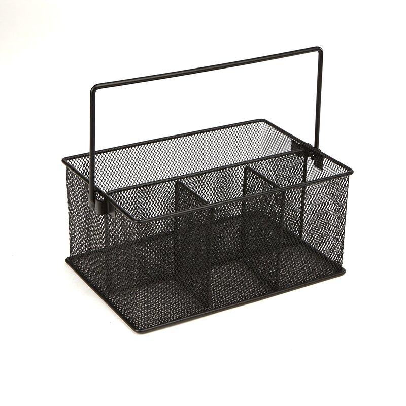 Mind Reader Storage Basket Organizer Perfect Flatware Caddy | Wayfair