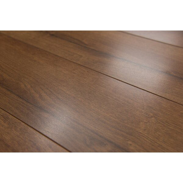 Brighton Vario 6 x 48 x 10mm Oak Laminate Flooring in Pecan by Branton Flooring Collection