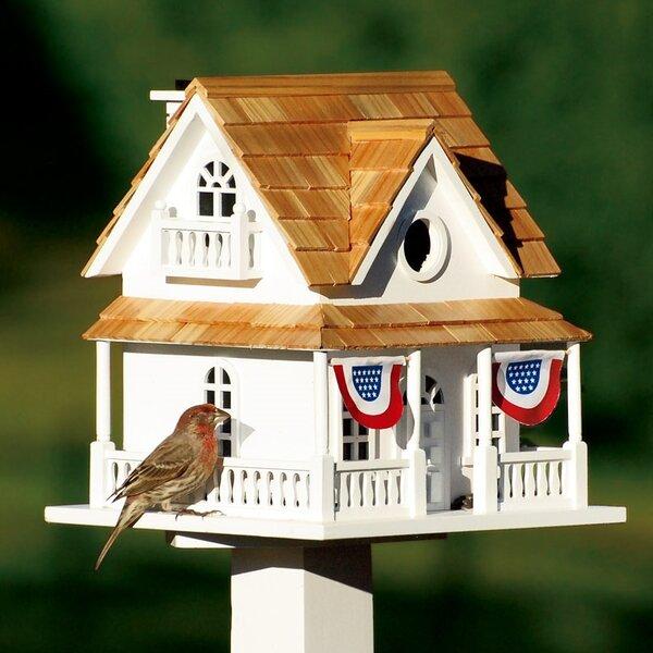 10 in x 10.5 in x 8.5 in Birdhouse by Plow & Hearth
