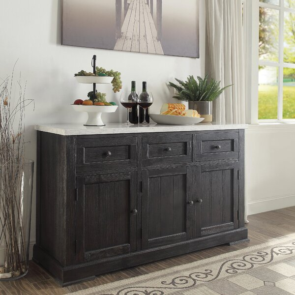 Viaan 58-inch Wide 3 Drawer Sideboard by Gracie Oaks Gracie Oaks