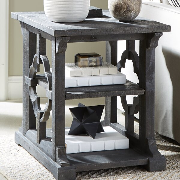 Lapidge End Table by Ophelia & Co.