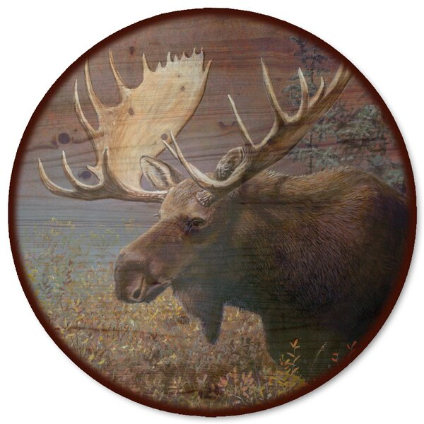 Chocolate Moose Lazy Susan by WGI-GALLERY