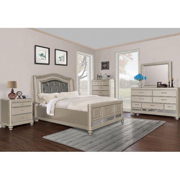 Standard 5 Piece Bedroom Set by BestMasterFurniture