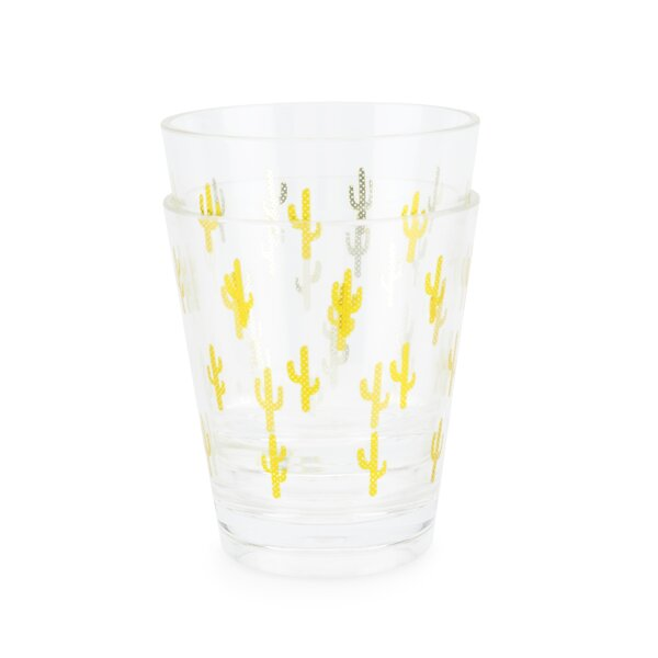 Cactus Acrylic 23 oz. Cup (Set of 2) by Blush
