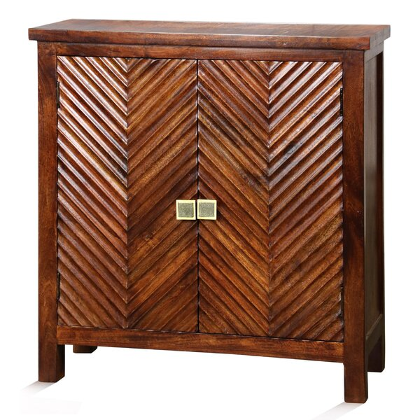 Genova 2 Door Accent Cabinet by Bloomsbury Market Bloomsbury Market