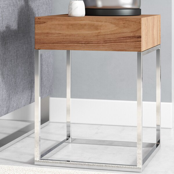 Camille End Table with Storage by Orren Ellis Orren Ellis