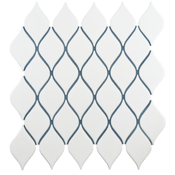 Despacio 1.9 x 3.3 Porcelain Mosaic Tile in Glossy White by EliteTile